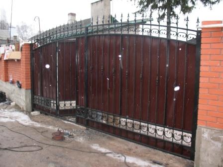 Ковані ворота (В-55)