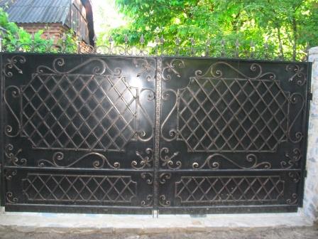 Ковані ворота (В-152)