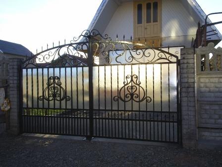 Ковані ворота (В-98)