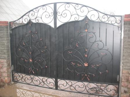 Ковані ворота (В-60)