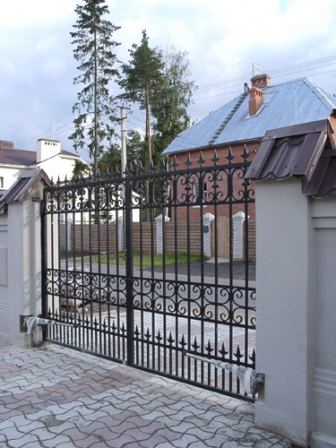 Ковані ворота (В-77)