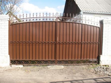 Ковані ворота (В-155)