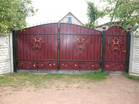 Ковані ворота (В-115)