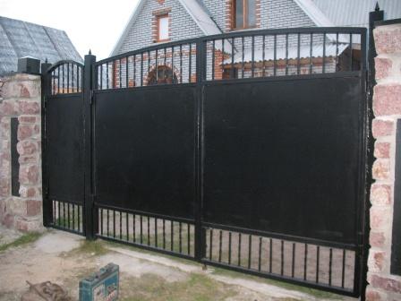 Ковані ворота (В-21)