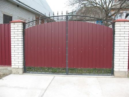 Ковані ворота (В-133)