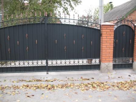 Ковані ворота (В-131)