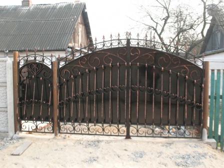 Ковані ворота (В-153)