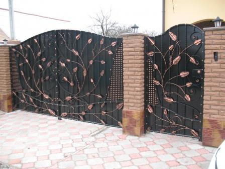 Ковані ворота (В-112)