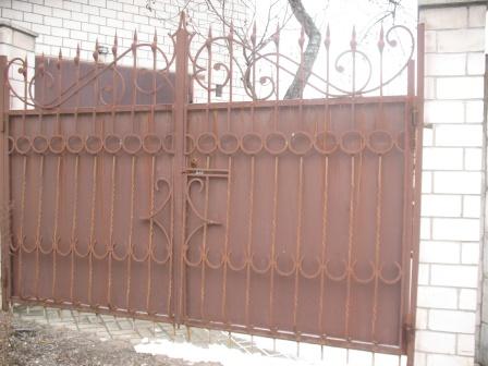 Ковані ворота (В-42)
