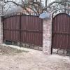 Ковані ворота (В-128)