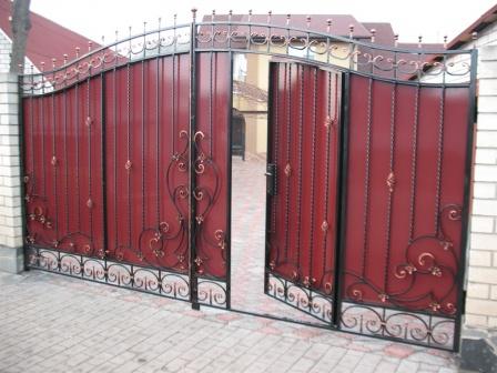 Ковані ворота (В-126)