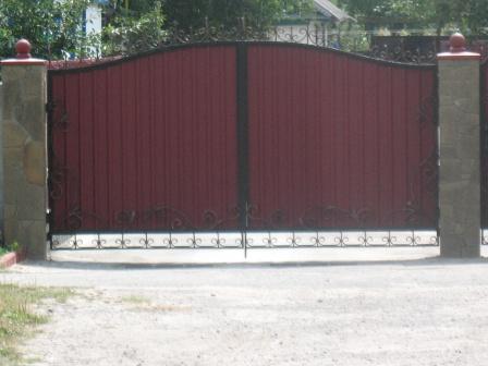 Ковані ворота (В-4)