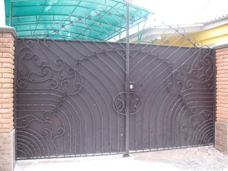 Ковані ворота (В-41)