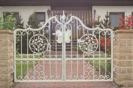 Ковані ворота (В-83)