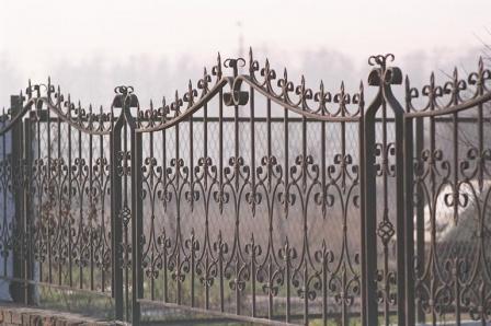 Ковані ворота (В-85)