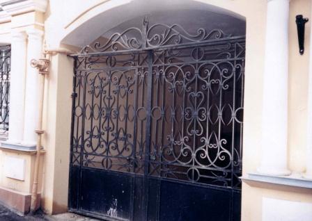 Ковані ворота (В-89)