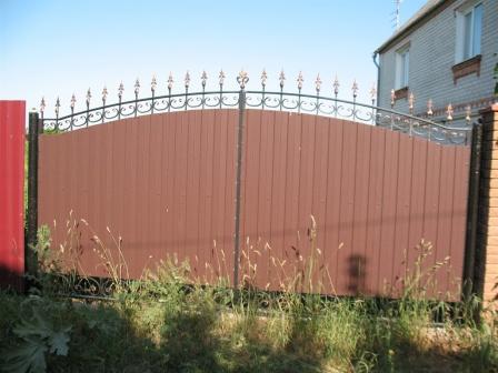 Ковані ворота (В-144)