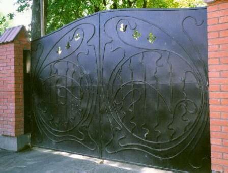 Ковані ворота (В-71)
