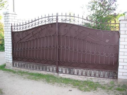Ковані ворота (В-69)