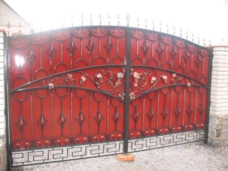 Ковані ворота (В-6)